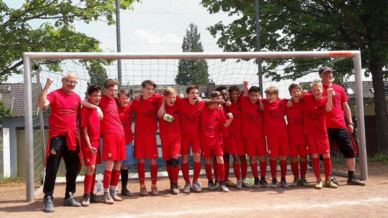 D1- U13 Meister beenden Liga mit Saisonsieg 23